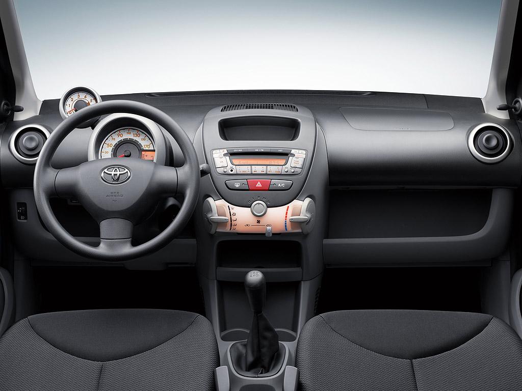 Vw group 5 - Toyota aygo interior ...
