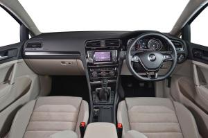 New VW Golf Interior